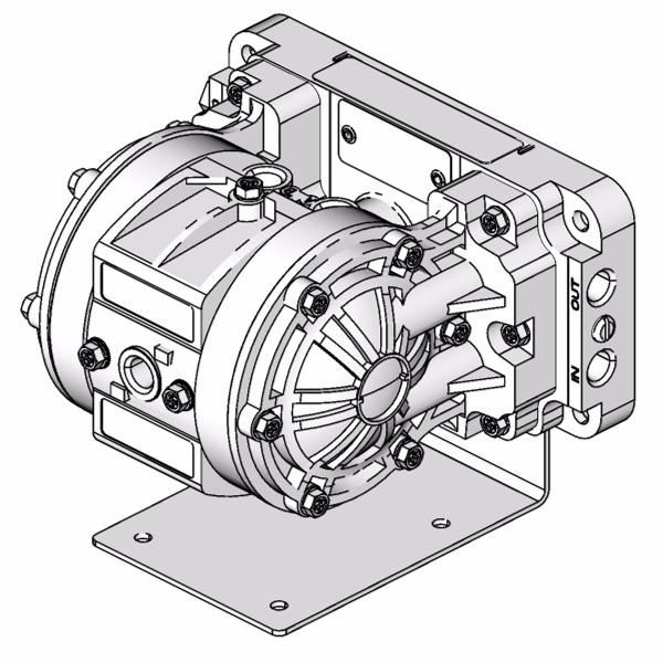 Husky 205 Air Operated Diaphragm Pumps