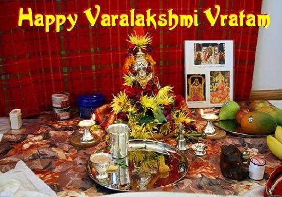 SIGNIFICANCE OF VARALAKSHMI VRATHAM  August 8 th, 2014