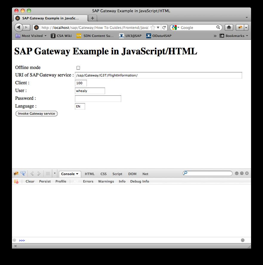 How To Consume A Gateway Service In JavaScript  - PDF