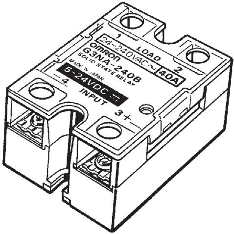 Solid State Relays G3na Model Number Structure Model Number Legend