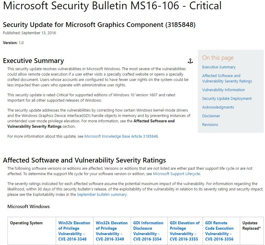 Effective Patch Analysis for Microsoft Updates  Power of