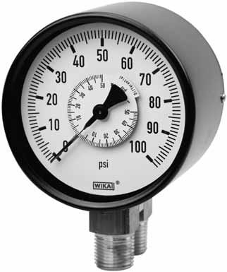 Trustful Ashcroft O-15-psi Pressure Gauge Business & Industrial
