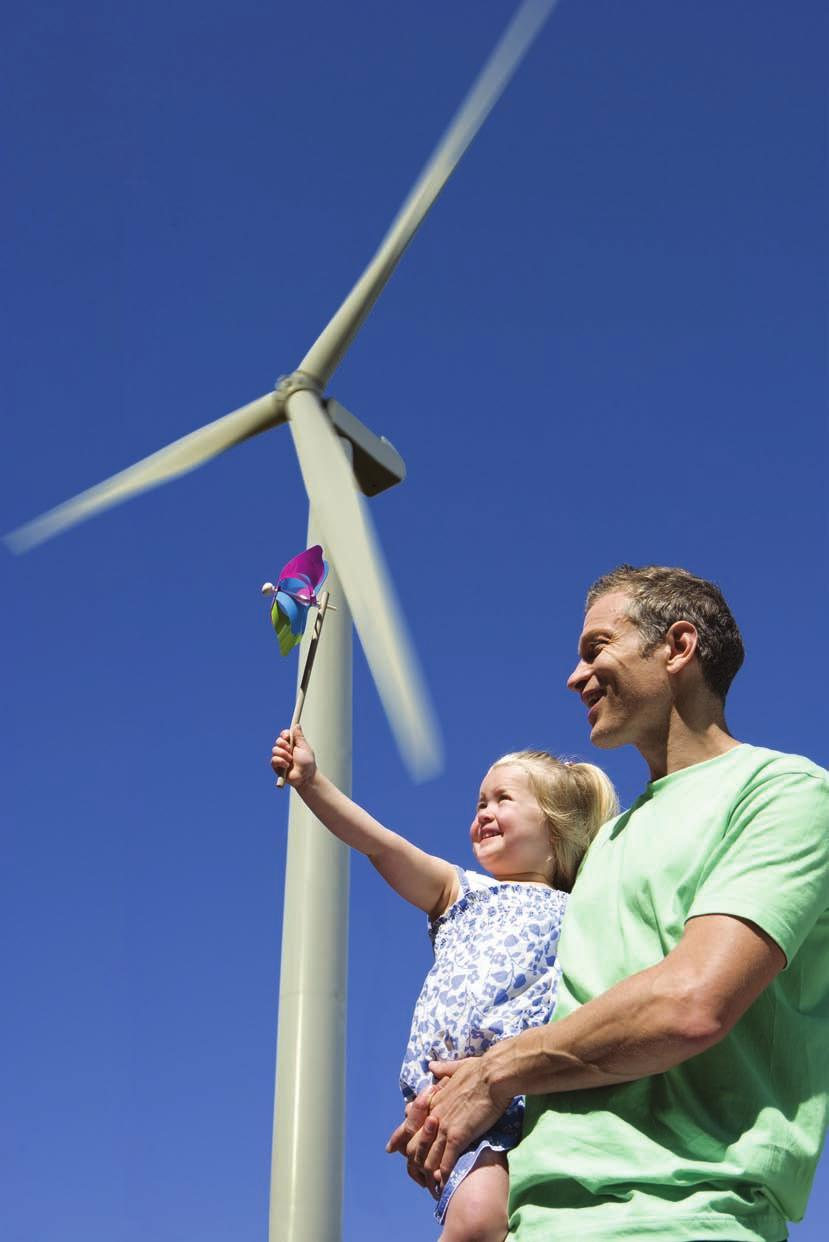Investing In Sustainability 24 Wind Turbines Offsetting the emission of over 828,000 tonnes of CO2 per annum.