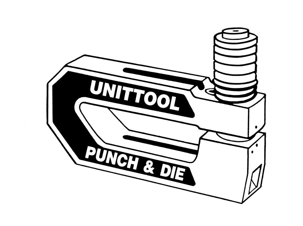 Unittool Punch Die Co Inc 28xx Punches And Dies Catalog Xx 94