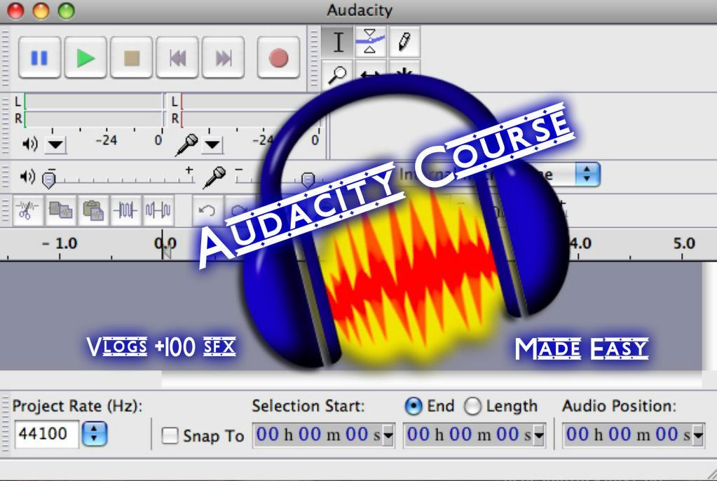 audacity is free open source cross platform software for recording