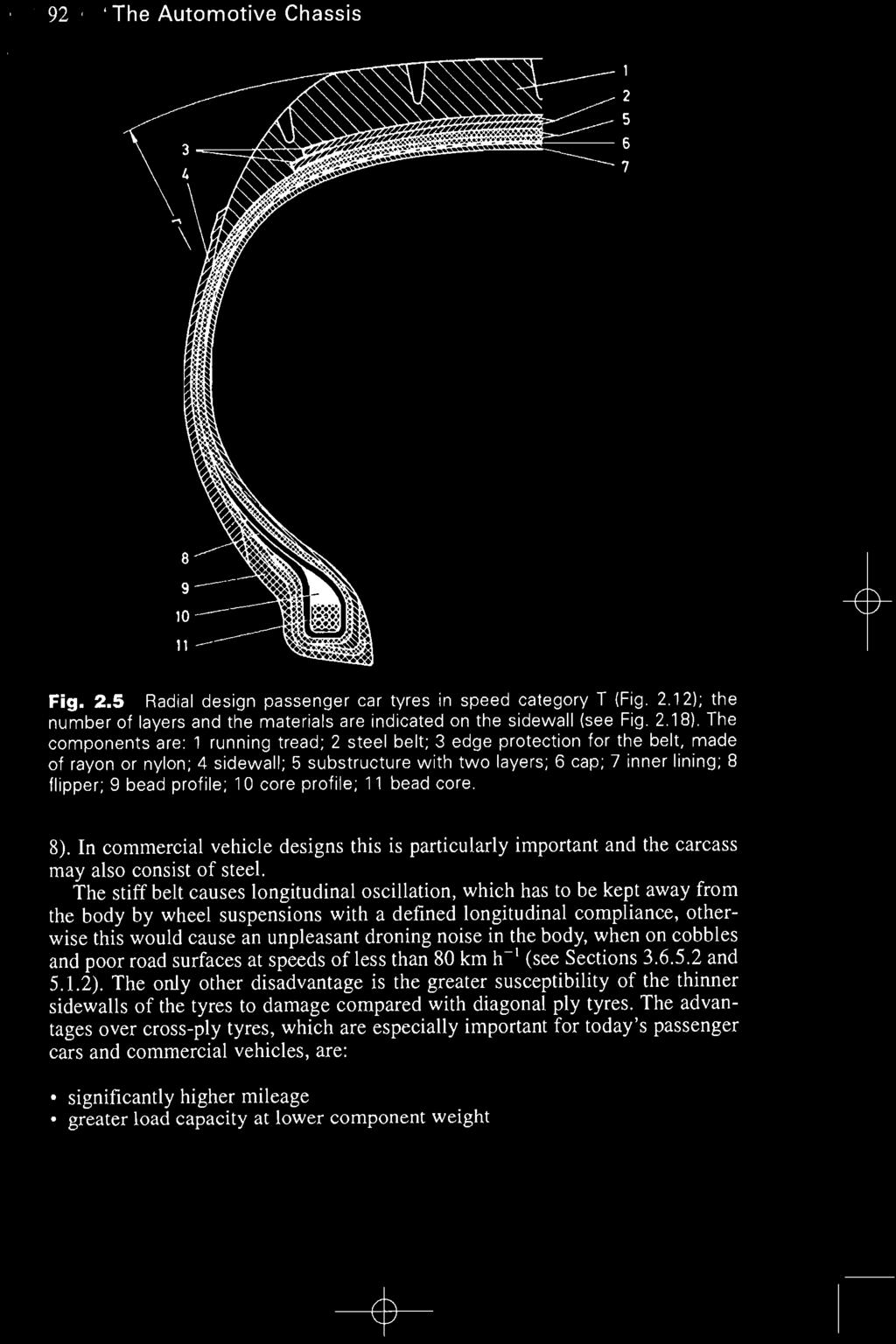 Tyres And Wheels 21 Tyre Requirements Interchangeability Pdf Fig 2 Radialply Tire Rotation Diagram The Automotive Chassis Liiii