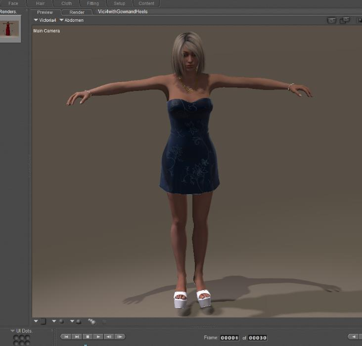 Using Poser Game Development to Create Assets for Unreal