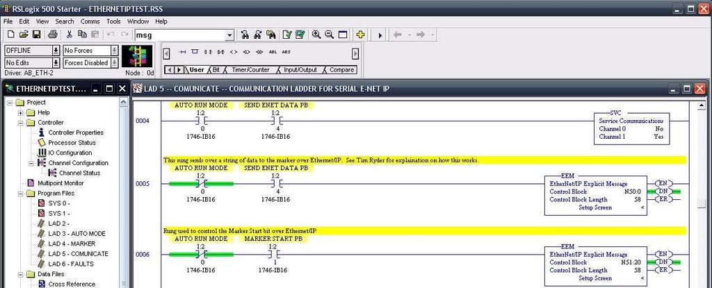 EtherNet/IP Programming #34 Programming with RSLogix /3/2014