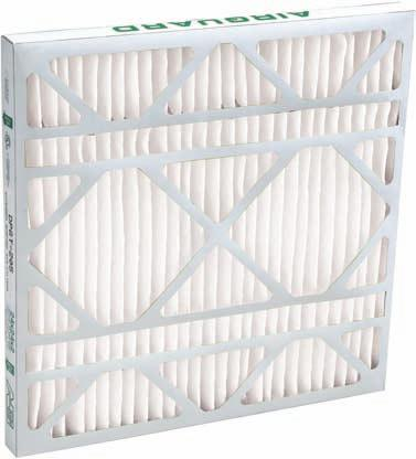 16 High x 20 Wide x 1//2 Deep Polyester Air Filter Media Pad 42 Pack Made in USA 25/% Capture Efficiency