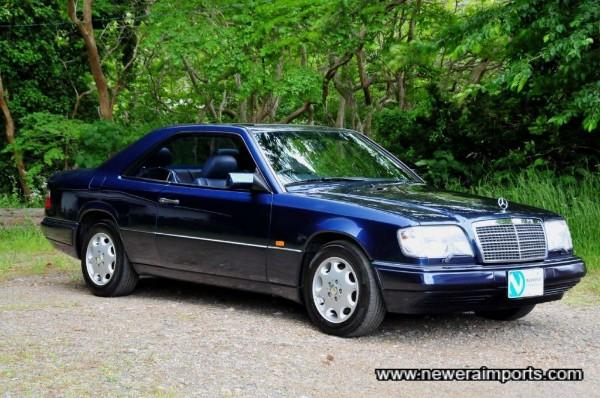 benz e320 24v w124 coupe limited rhd full spec completely rust