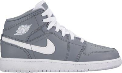 pretty nice 0c643 3b556 040 036 85.00 W0524 554725 AIR JORDAN 1 MID BG UPPER COMBINATION OF  SMOOTH AND