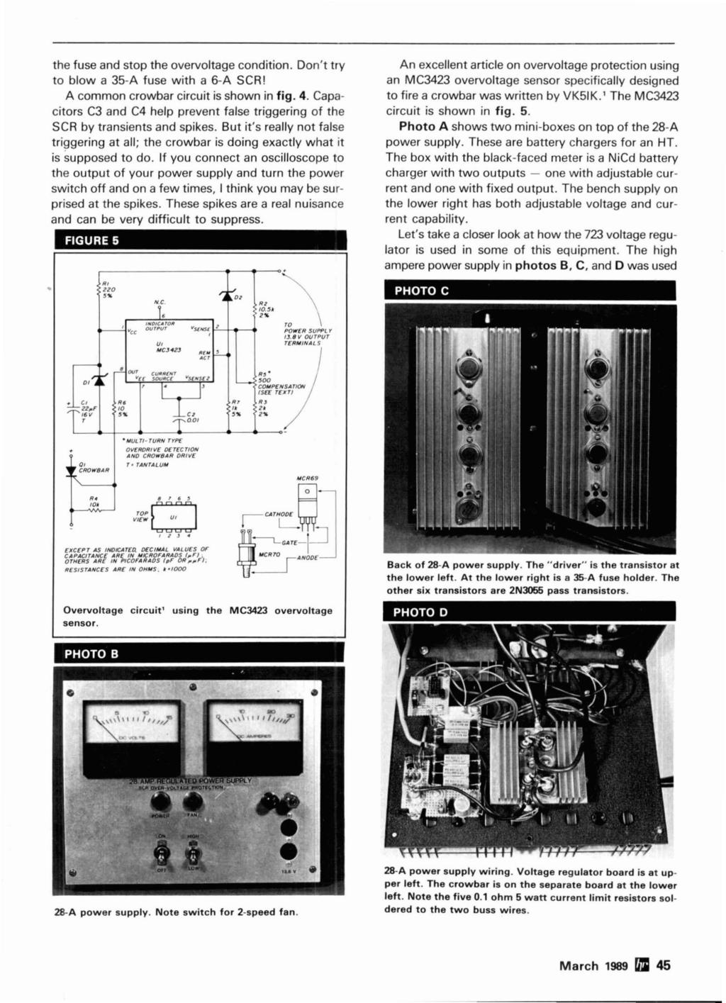 Basic Car Wiring Diagram 1984 Cupe Simple Starter Test 723voltage Regulators Circuits For Chargers Through
