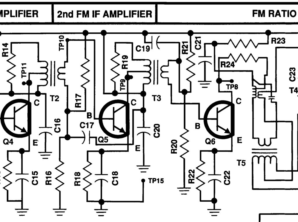 Amfm Radio Kit Model Amfm 108k Integral Circuit 9 Transistors 4