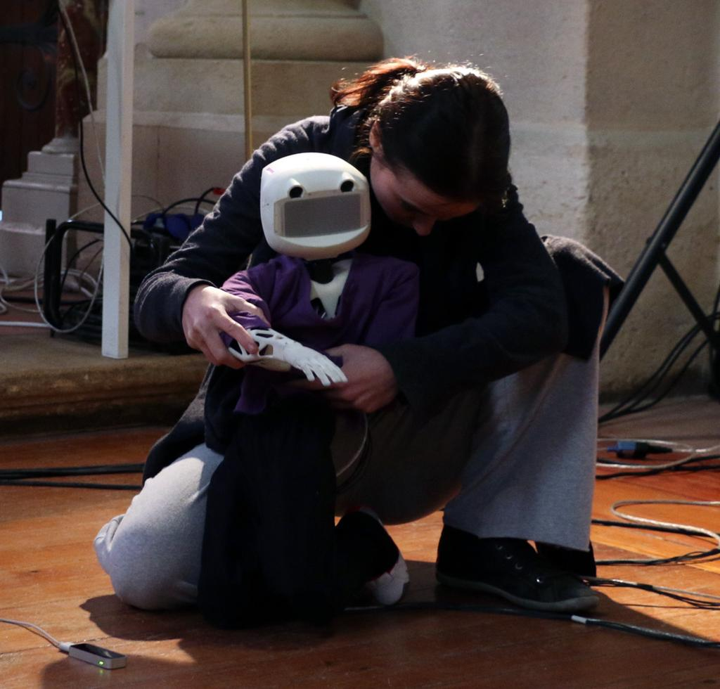 Poppy Project: Open-Source Fabrication of 3D Printed Humanoid Robot