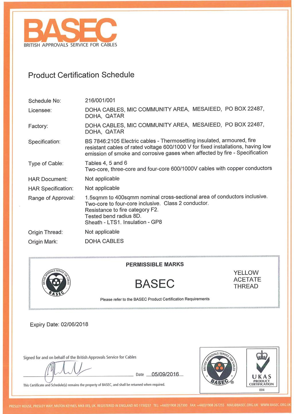 Elsewedy electric about us pdf system approval certificates basec approval 36 keyboard keysfo Image collections