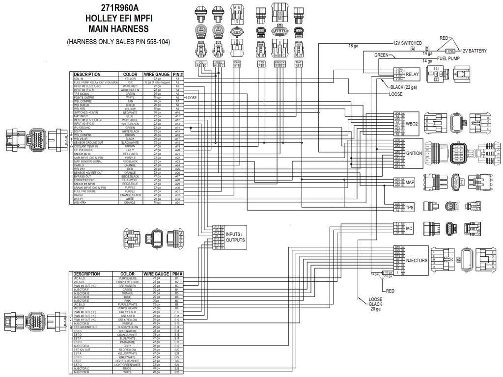 Hp Efi 4 Bbl Mpfi Systems Pdf Jegs Distributor Wiring Diagram 26 Holley Performance Products 1801 Russellville Road Bowling Green Ky Technical Service For Online Help Please Refer To The Information