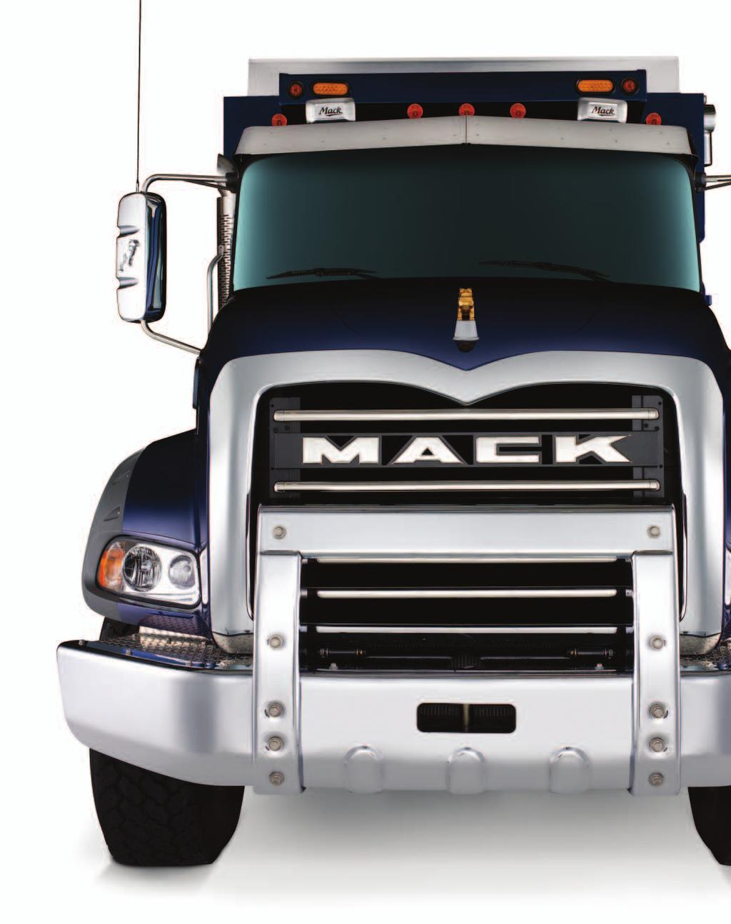 Durable And Stylish No Wonder It S One Of The Most Popular Trucks On Wiring Harness 2015 Mack Rawhide Aerodynamic Design Bulldog Sits Low Granite Sloped Hood Providing Improved Aerodynamics