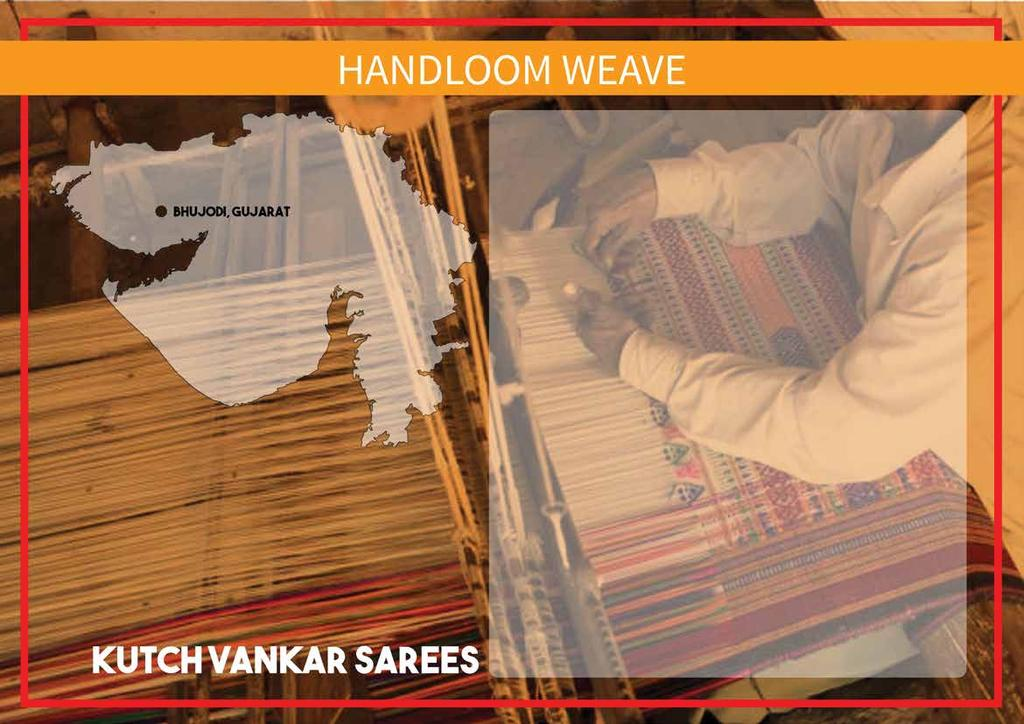 The festive vibrance of handloom textiles is