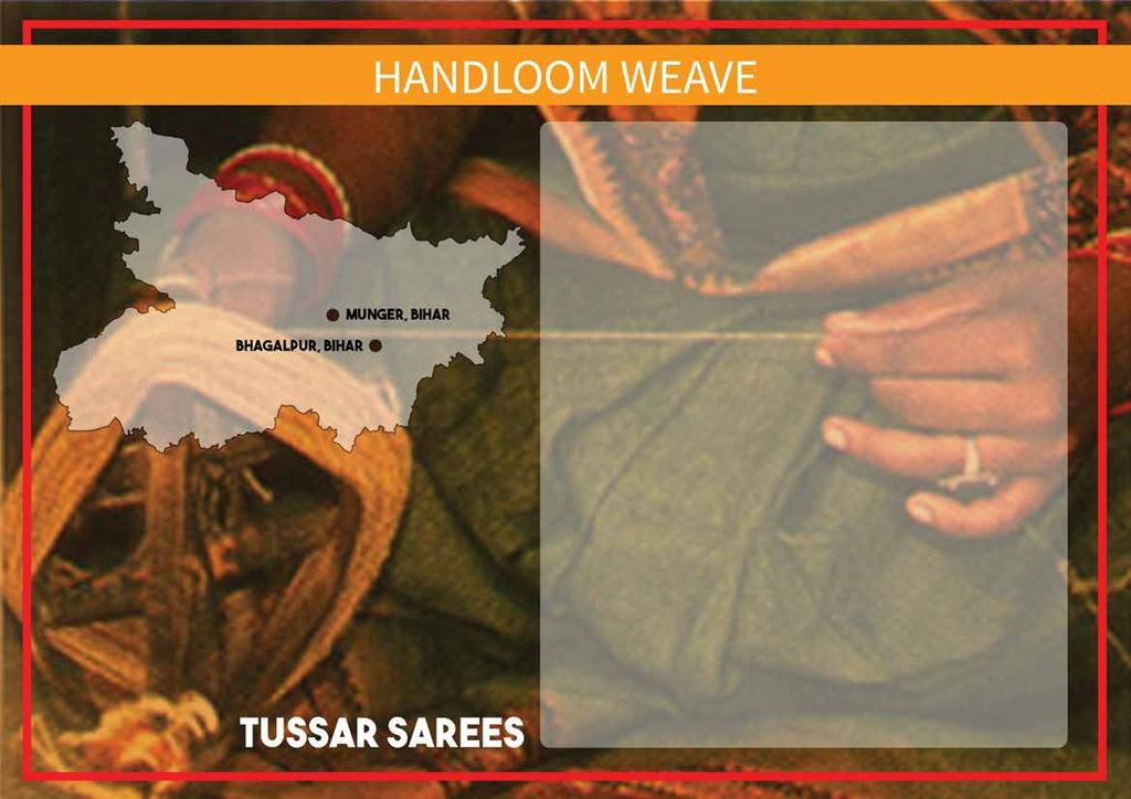 Tussar Silk also often referred to as