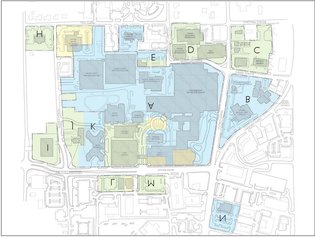 WELLSTAR KENNESTONE REGIONAL MEDICAL CENTER Master Facilities Plan on roswell hospital map, gwinnett medical center hospital map, cobb hospital map, wellstar hospital map, cobb galleria map, st. joseph hospital atlanta ga map, grant hospital map, kennesaw hospital map, hospitals in augusta ga map,