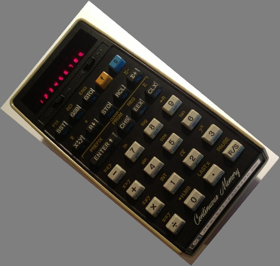Hp 29c Calculator Diagnosis And Restoration Presented By Jim Basic Integer At89c51 Functioning Sn 1811s20315 8