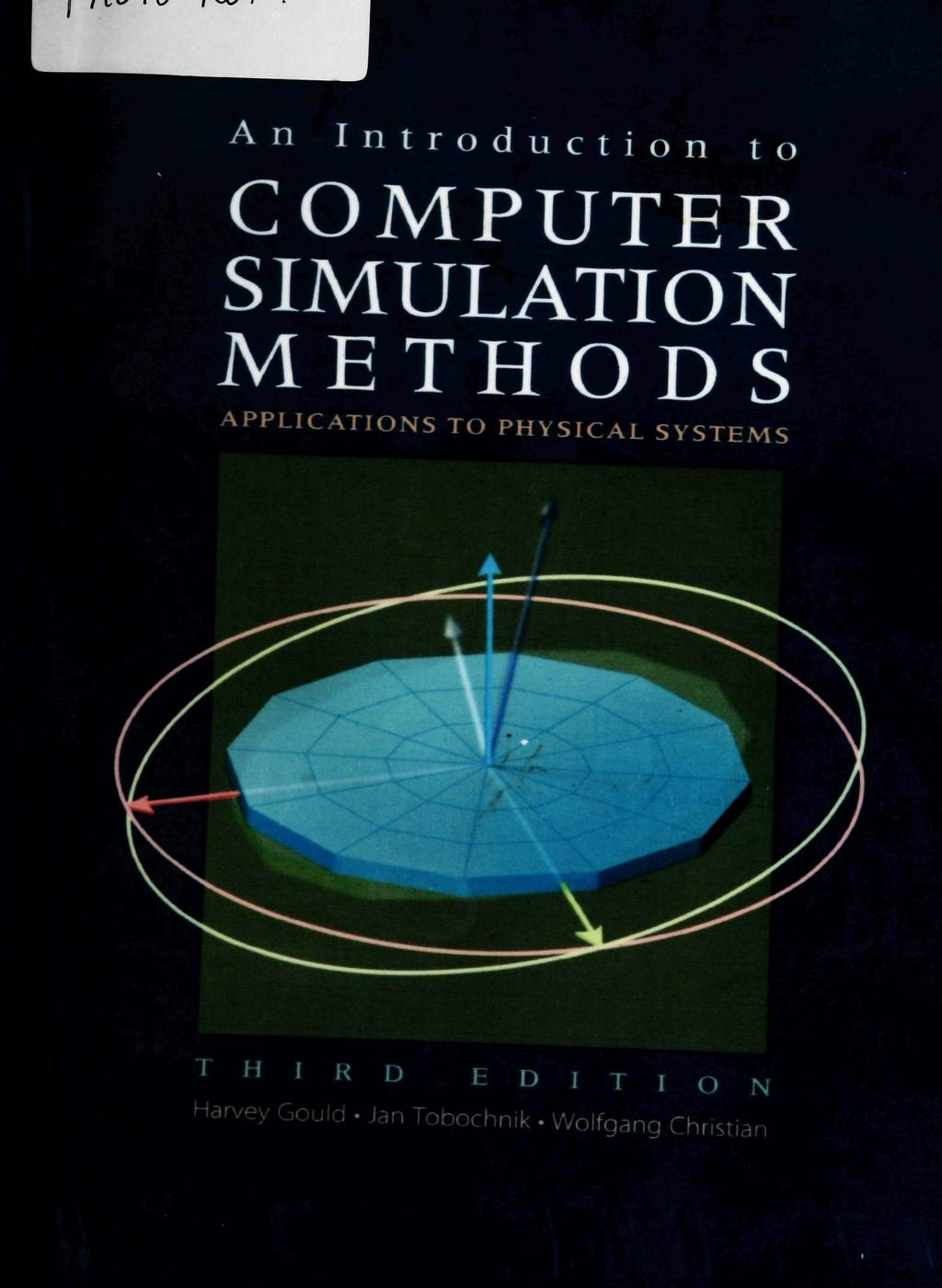 Introduction to Computer Simulation, CSiS winter term 16/17