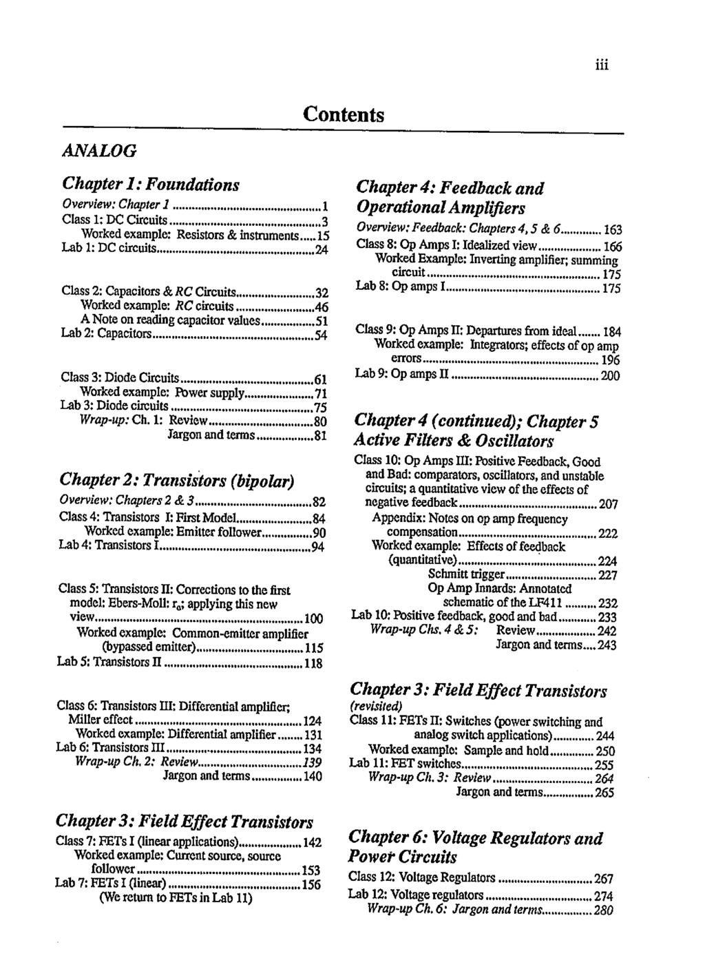 Student Manual For The Art Of Electronics Pdf Rs Flip Flop Using Op Amp Tit Contents Analog Chapter I Foundations 4 Feedback And Overview 1