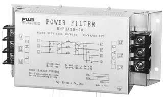 AC POWER REGULATORS NOISE SUPPRESSION FILTERS CONTROL POWER