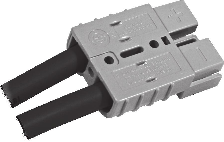 Heavy Duty Power Connectors SB50#10-12AWG TWIN CON CABLE CLAMP, Pack of 20 5905