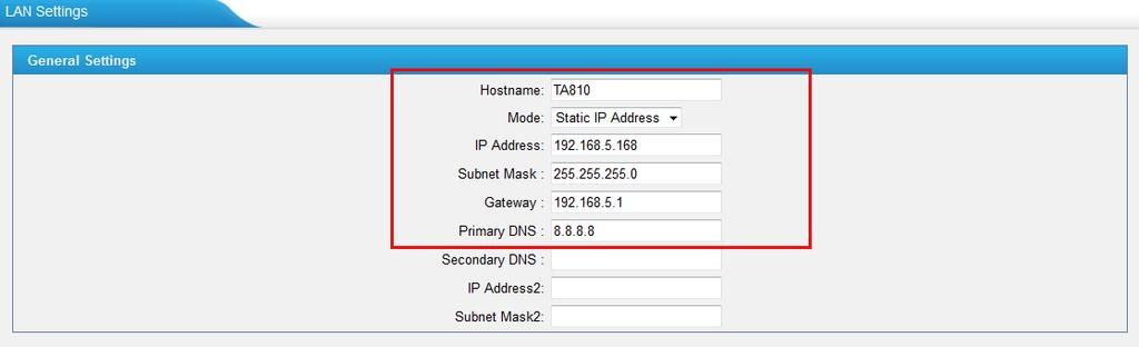 How to Connect Elastix to NeoGate TA FXO Gateway - PDF