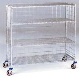 447c5d07082e WIRE SHELVING Easy and quick shelf assembly Numbered posts for easy  adjustment Easily converts into a
