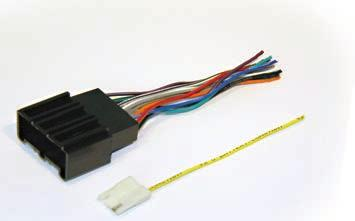 scoscher vw03rb audi a4 2005 wiring harness with oem radio plugschrysler aftermarket speaker to oem chrysler see application guideford fdk11b 2004 up ford lincoln premium audiophile