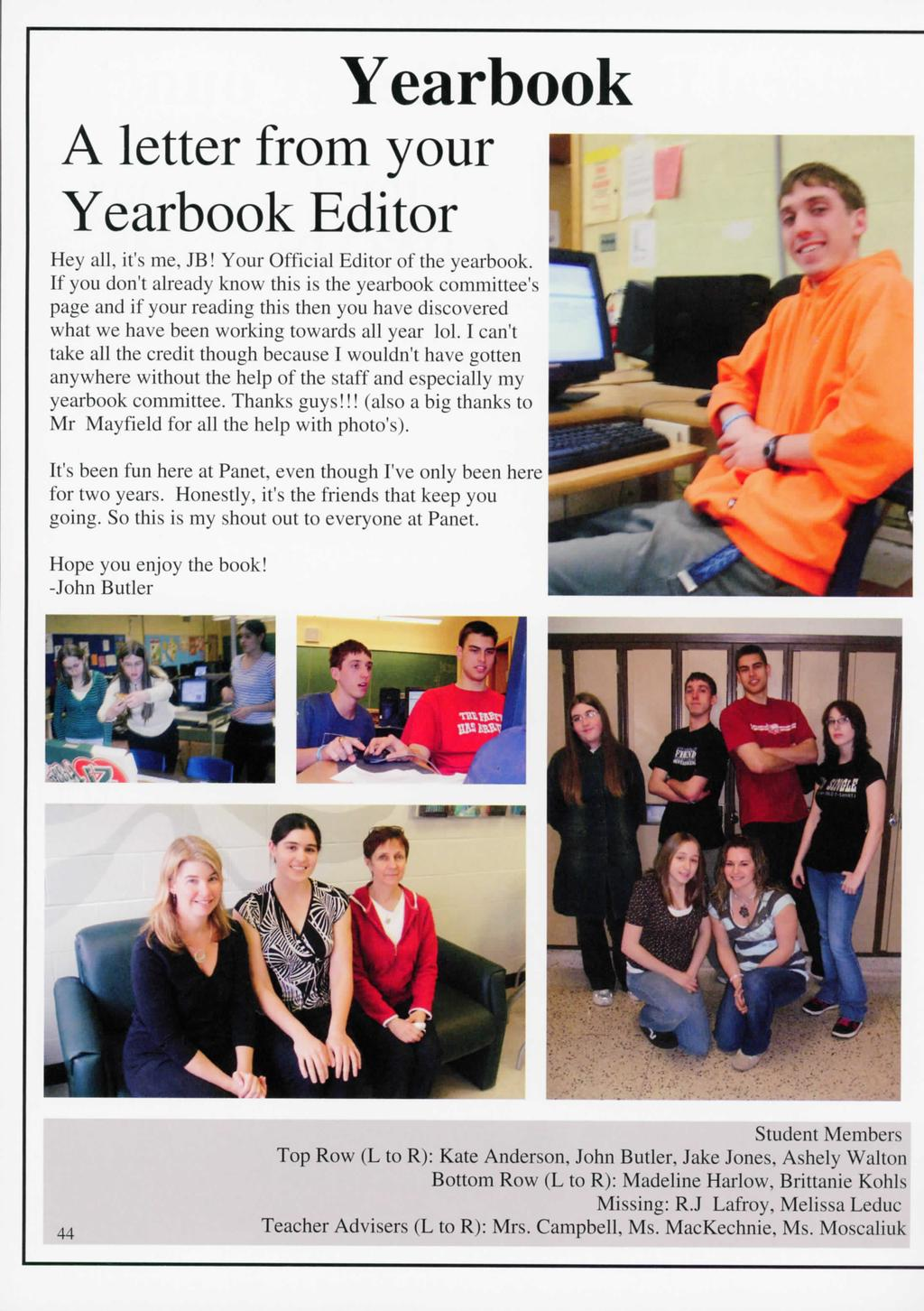 Published in Canada Printed in the USA  General Panet High School - PDF