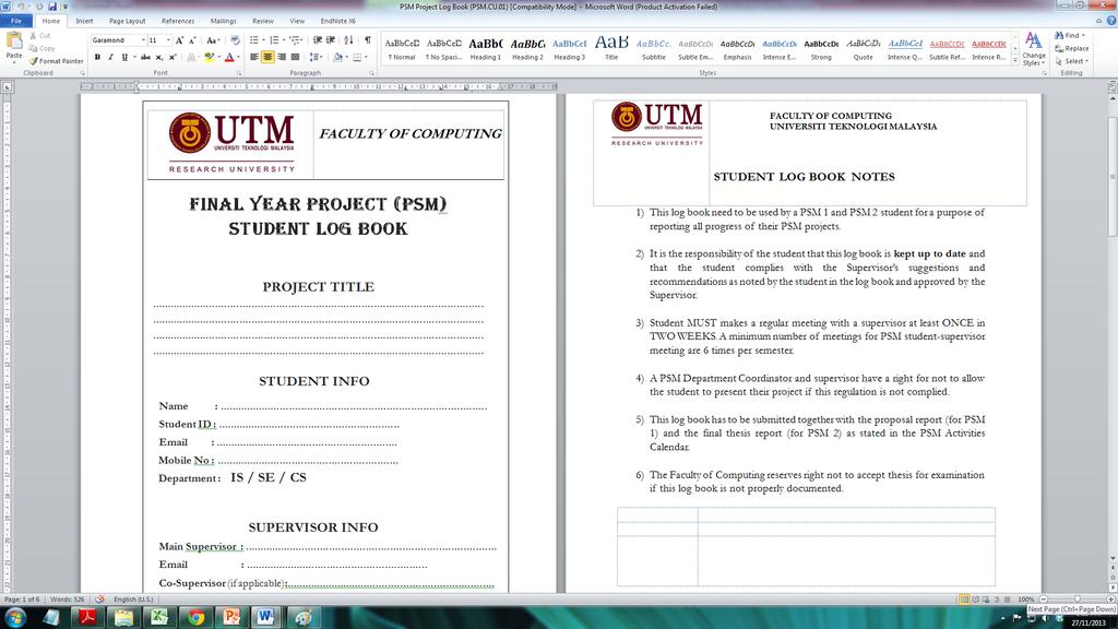 Psm Presentation Submission Briefing Pdf