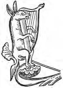 A Twelfth Century French Depiction Of Troubadour As Donkey It Is Very