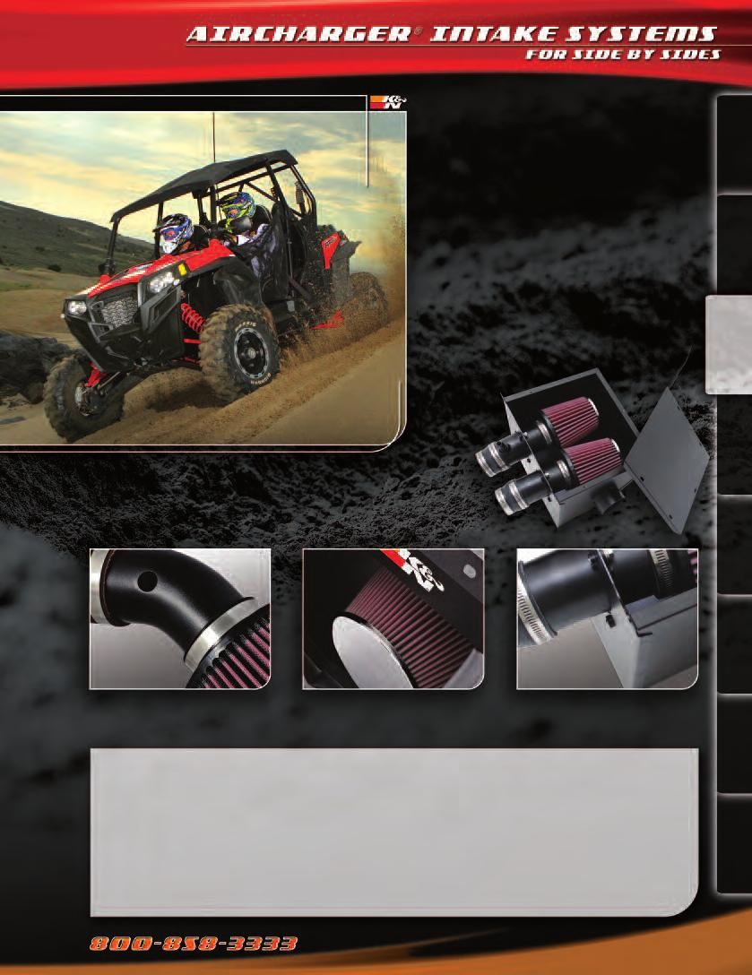 K&N ENGINEERING, INC POWERSPORTS PRODUCT CATALOG - PDF
