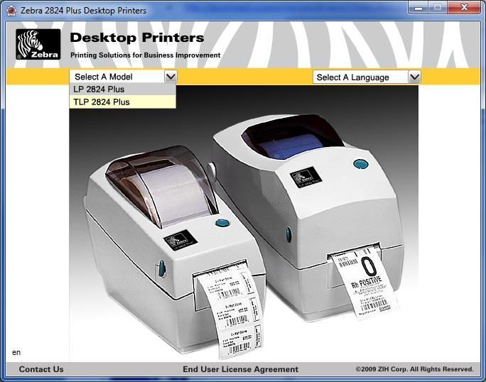 Installing and Using the Zebra LP2824 Plus Label Printer in