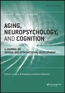 This article was downloaded by: [Lund University Libraries] On: 25 August 2010 Access details: Access Details: [subscription number 910411338] Publisher Psychology Press Informa Ltd Registered in