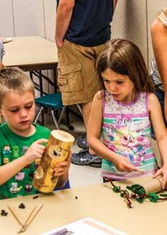 Early Childhood Dig into Dinosaurs For children ages 5-6, accompanied by an adult As junior paleontologists, we ll examine fossils, arrange skeletons, and of course, dig to uncover animal mysteries.