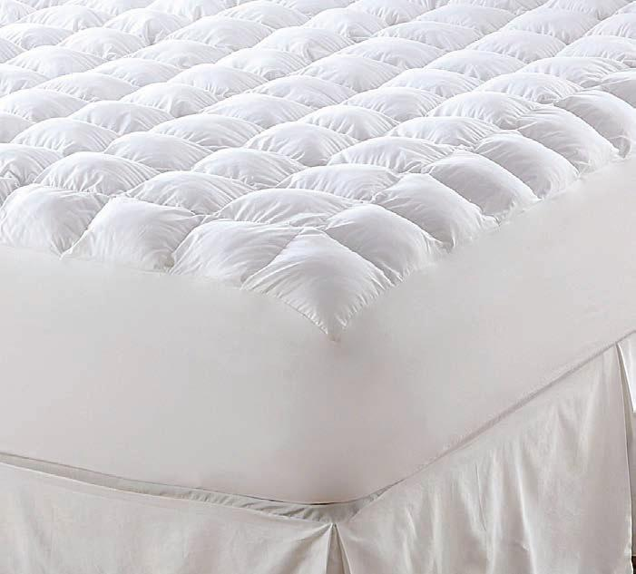 when every detail matters, our bedding basics add a high-quality finishing touch to your design waterproof mattress pad quilted mattress pad E F E.