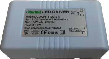 Driver Standard Driver 1W 7mA Pre-wired IP2 IK8 Product References Compatibility STD12 3 76 175 46 238 Powerlight Eye Protection 6W Powerlight Eye Protection 8W Characteristics Measures Type