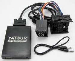 Operation: Switching to CD mode once or twice on the radio panel to switch between YATOUR and exsiting CD changer Module unit for VW YTM06-VW10 VW Gamma4 plug VW 1993-1998 Golf mk3,1993-1998 Jetta