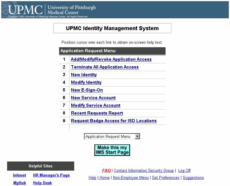 UPMC  Quick Guide  Getting Started With IMS  Overview  Subject: IMS
