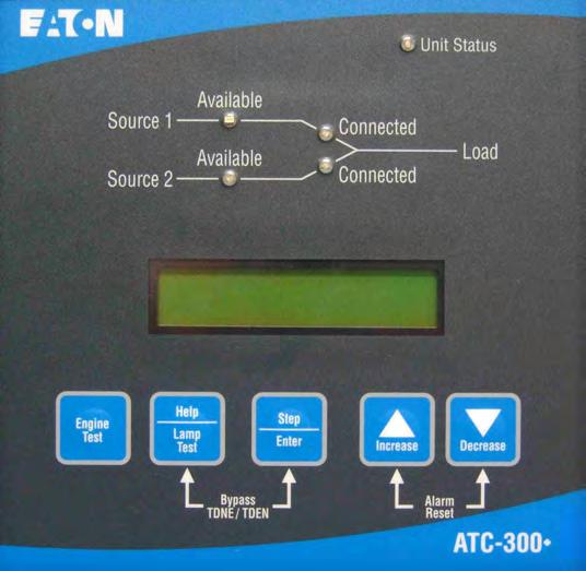 O M Manual For The EATON ATC 300 Automatic Transfer