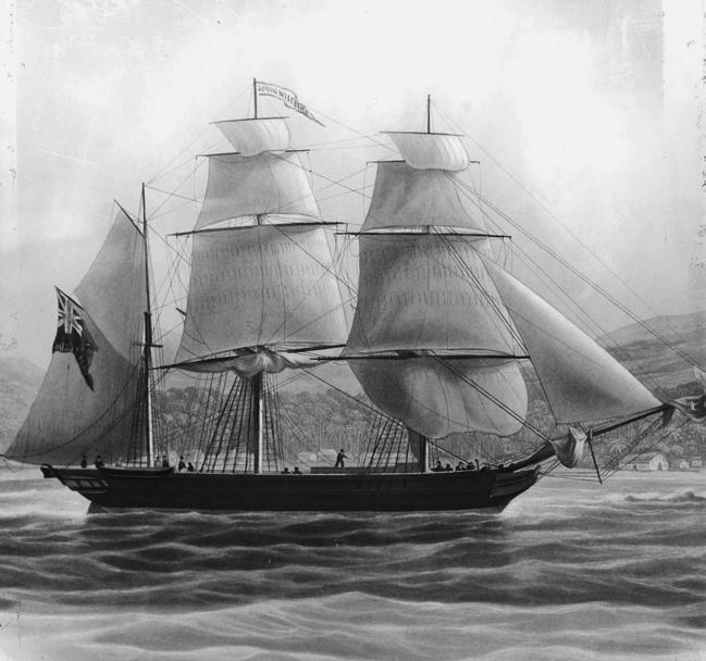 The ship John Williams was owned by the London Missionary Society.