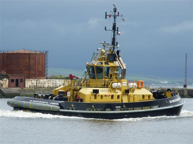TUGS & TOWING NEWS MAX CHRISTENED SD RESOURCEFUL - GREENOCK - PDF