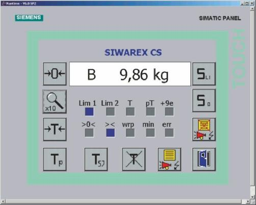 Siemens ag products for weighing technology process automation weighing electronics siwarex plc based weighing electronics siwarex cs siwarex cs weighing functions 2 fandeluxe Choice Image