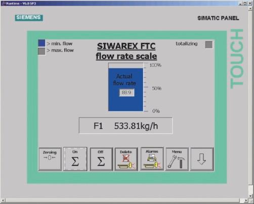 Siemens ag products for weighing technology process automation application specific parameters such as proportioning parameters device and material characteristics can fandeluxe Choice Image