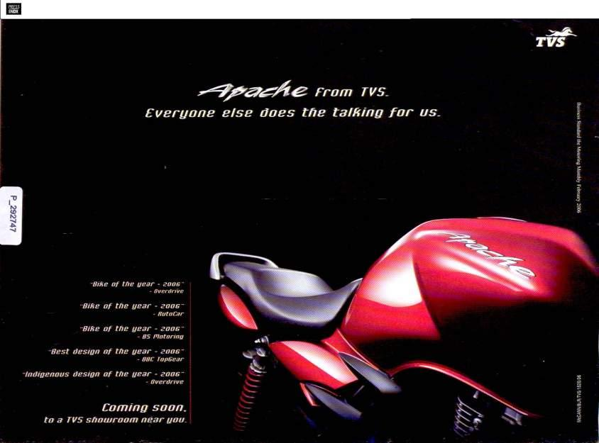 tns case study the apache motorcycle advertising campaign in india