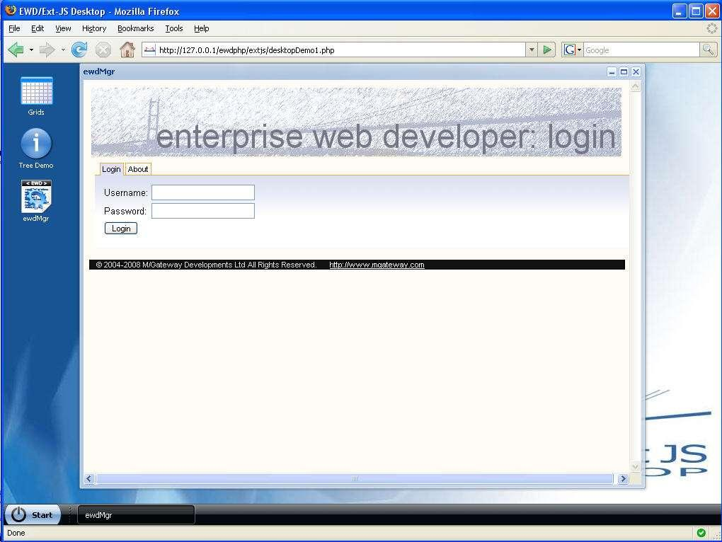 Enterprise Web Developer : Using the ExtJS Widgets  - PDF